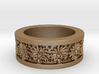 Sunflower Ring Ring Size 8 3d printed