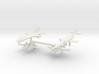 1/285 Experimental Aircraft Set 1 3d printed