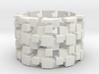 Tilt Cubes Ring Size 8 3d printed