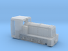 Französische Feldbahnlok Billard T100 Spur 0f 1:45 3d printed