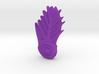 SpikedSpiralLeaf 3d printed