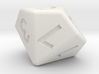 10-sided die (d10) 3d printed