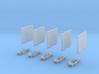 Ladebordwand Glatt MitKlappteil- Kinematik 5x 3d printed