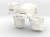 Five Robohelmets: X-Con '13  3d printed
