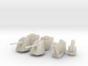 OtoMelara 4x, CIWS, RAM & Harpoon 3d printed