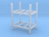 Steel Storage Racks 1-87 2 High 3d printed