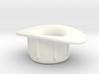 Presta Valve Tube Rim Adapter, 140102 3d printed