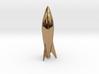 Rocket Earring Bead 05 3d printed