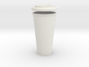 BJD Doll Coffee Cup and Lid 3d printed