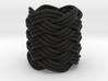 Turk's Head Knot Ring 9 Part X 5 Bight - Size 0 3d printed