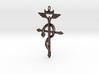 Flamel's Cross 3d printed