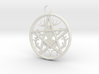 Cernunnos Hex Infinity Pendant  # 2, the Original 3d printed