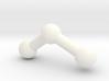 Ozone molecule model. 3d printed