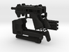 1/6 scale caseless smg Akimbo Package revised spru 3d printed