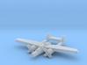 P-61 Blackwidow 1:900 3d printed