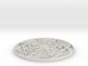 Mandala four - 2 inch 3d printed