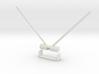 Futaba Diversity Antenna mount 3d printed