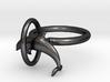 Dolplin Ring (US Size11) 3d printed