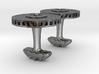 Brake disc cufflinks with brake caliper 3d printed