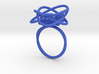 Sprouted Spiral Ring (Size 9) 3d printed