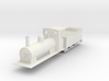 009 colonial loco and tender  3d printed