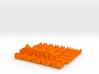 Base Catan Orange Piece Set 3d printed