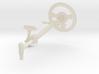 SR40007 Beach Buggy Steering Wheel 3d printed