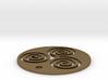 "Triskele (1.25"" diameter) 3d printed"