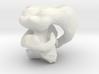 Alian Duck Evolution :-) in leopoly 3d printed