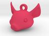 Pig key chain 3d printed