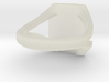 personalized moto ring size 11 3d printed
