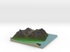 Terrafab generated model Fri Sep 27 2013 13:00:18  3d printed