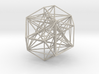 MorphoHedron11-800B178  3d printed