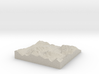 Terrafab generated model Mon Oct 07 2013 16:44:43  3d printed