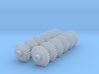 Replacement 2mmFS Terrier Gears With Muffs 3d printed