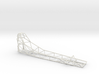 1/16 scale AA Fuel Altered / Funny Car Chassis 3d printed