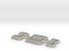 Z Scale Pullman Heavyweight Baggage Car Windows 3d printed