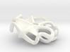 Steampunk Propeller Earring 3d printed