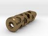Tritium Lantern 1B (Silver/Brass/Plastic) 3d printed
