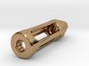 Tritium Lantern 1C (Silver/Brass/Plastic) 3d printed