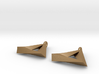 Penrose Triangle - Earrings (17mm | 2x mirrored) 3d printed
