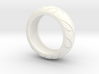 Street Bike Tread Ring Size 10 3d printed