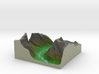 Terrafab generated model Thu Oct 31 2013 13:08:13  3d printed