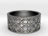 Infinity Band Ring Size 5 3d printed