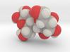 Lactose molecule (x40,000,000, 1A = 4mm) 3d printed