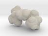 Advil molecule (x40,000,000, 1A = 4mm) 3d printed