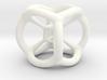 Tesseract Pendant 3d printed