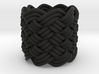 Turk's Head Knot Ring 8 Part X 8 Bight - Size 0 3d printed