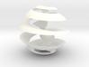 Möbius Christmas Tree Ball 3d printed