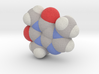 Caffeine molecule (x40,000,000, 1A = 4mm) 3d printed